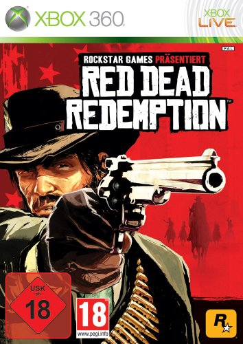 Red Dead Redemption (Uncut) (Big 360 One Xbox Red)