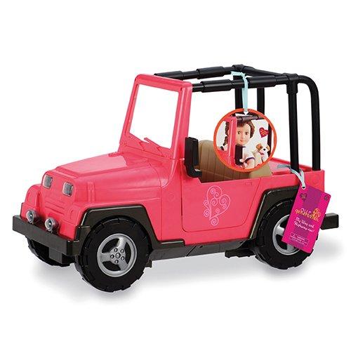 77Z OG Jeep Auto Fahrzeug, rosa/braun ()