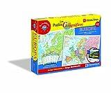 Clementoni- Puzzle Geografico Europa-Vicens Vives, 104 piezas + Juego Webcam (65294.5)