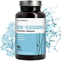 Glucosamina MSM Condroitina Manganeso Suplemento Articulaciones Huesos Reforzar Defensas Condraliv 4en1 Antiinflamatorio Artritis Dolores Muscular ...
