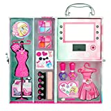 Markwins Barbie Geschenk Set Beleuchteter Dream House Schminkkoffer plus Make up, 1er Pack