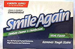 Smile Again Denture Cleaner - Cleans and Disinfects