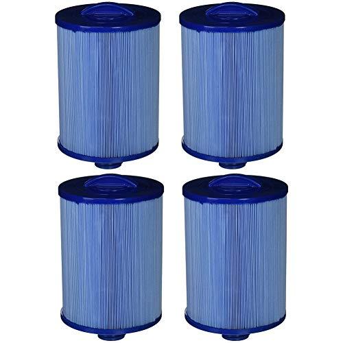 MYY Ersatzpatrone FC784M Whirlpool Spa Filter Blau Länge 378mm Durchmesser 125mm für heiße Quellen (4Pack)