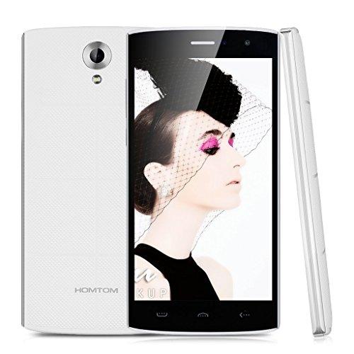 HOMTOM HT7 12,7 cm 3G-smartphone Android 5.1 quad core 1,3 gHz Dual SIM 1 GB RAM 8 GB ROM libre con función GPS