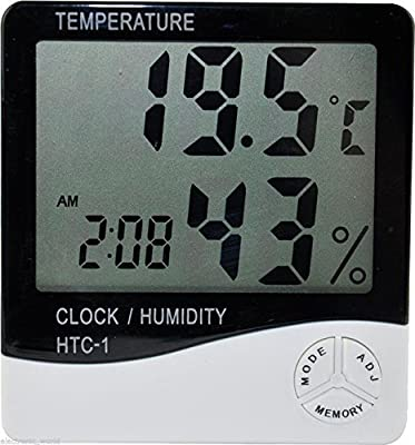 DTY Trading ® LCD Digital Temperature Humidity Meter Thermometer