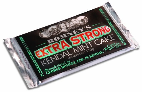 ROMNEY'S OF KENDAL Kendal Mint Cake WHITE EXTRA STRONG 170g / 5.99oz x1