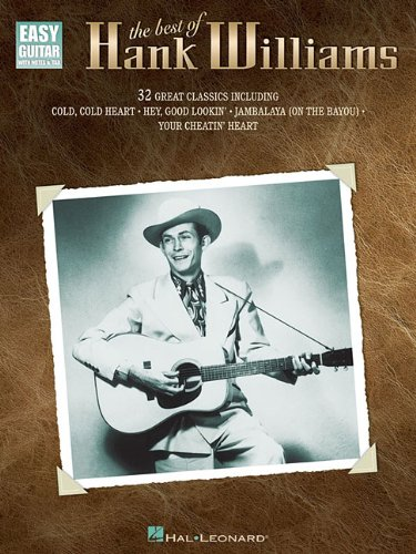The Best Of Hank Williams Easy Guitar