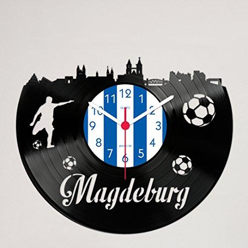 Gravinci Schallplatten-Wanduhr Magdeburg Fan