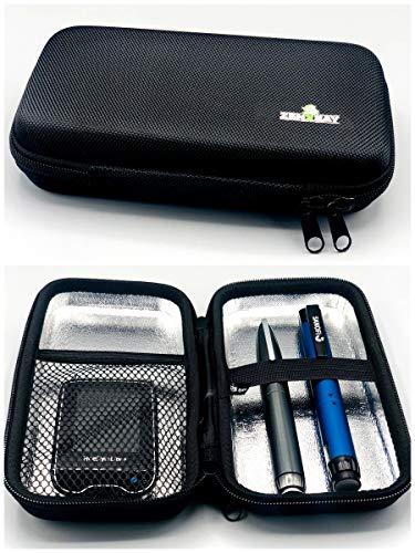 Tasche Hardcase Blutzuckermessgerät & Diabetes Zubehör, Reisetasche, Diabetikertasche für Insulin, Pen Case ZENXEAY