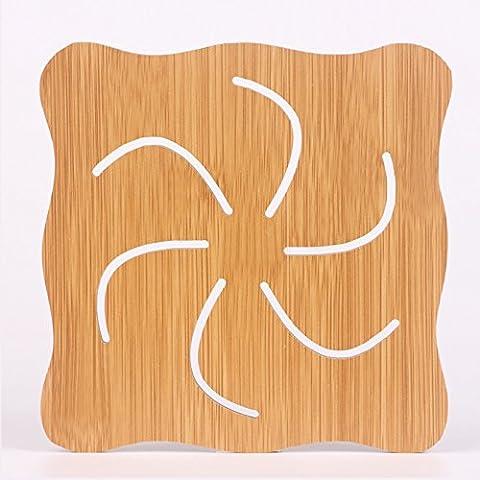 yifom Tovagliette in legno Presina, 6 Hot wheels
