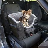 Trixie Siège de voiture Dimensions : 41 × 39 × 42 cm 13176 Couleur: noir/gris