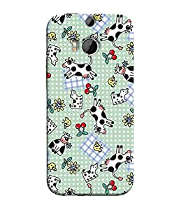 PrintVisa Designer Back Case Cover for HTC One M9 Plus :: HTC One M9+ :: HTC One M9+ Supreme Camera (Cow milk Blanket)