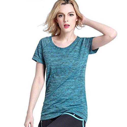 Balai Women Sports Shirt Gym Fitness Yoga Workout Tops Quick Dry Short Sleeve T-Shirt