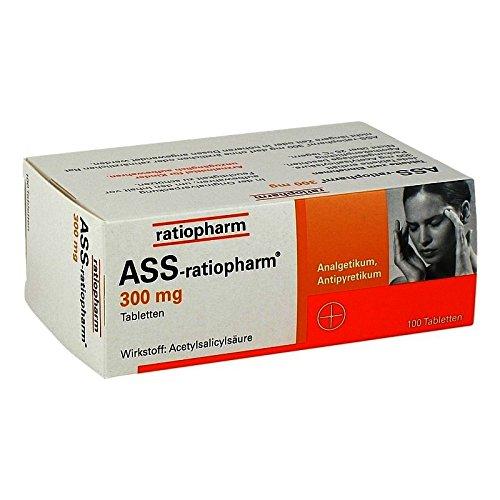 ASS-ratiopharm 300mg 100 stk