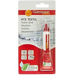 Gutermann Solvent Free Textile Glue Tube, Benzisothiazolin, Clear, 19 ml/20 g