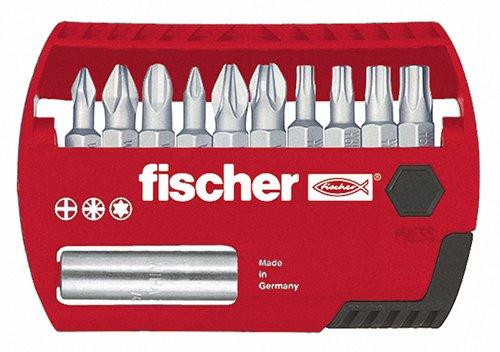 Preisvergleich Produktbild Fischer 533153 Profi Bit Set FPB, TX- und Pozidriv-Antrieb und Universalhalter, 11 Teile