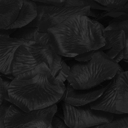 Confetti Rose Petal Deluxe Black (Kostüm Petal Place Rose)