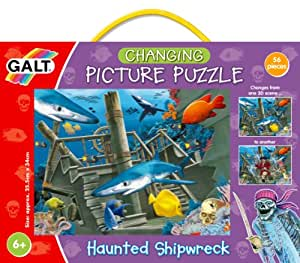 Galt Toys Changing Picture Puzzle, Haunted Shipwreck