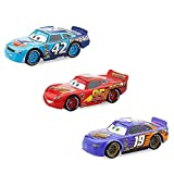 Disney Lightning McQueen, Cal Weathers und Bobby Swift Die Cast Car Set - Cars 3