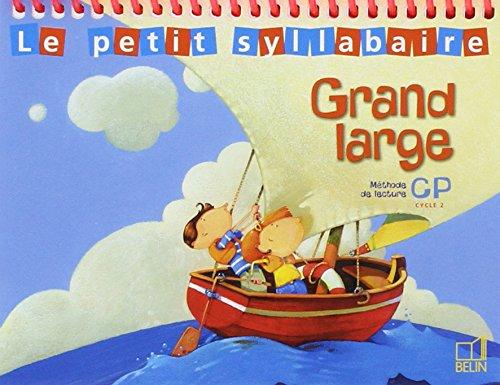 Le Petit syllabaire (Pack de 5 livres), méthode de lecture CP (cycle 2) : Grand Large