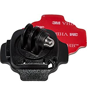 Action Outdoor ® helmet holder Rotary 360º for GoPro cameras or similar