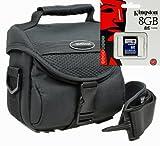 Kamera Foto Tasche Vantage mit 8 GB SD Karte für Sony Alpha 6300 6000 5000 5100 NEX-7 NEX-5 HX400 H400