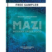 MAZI: Modern Greek Food: FREE SAMPLER (English Edition)
