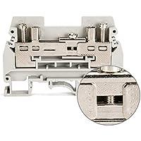 Suyep URTKS - Test de montaje en riel para desconectar el bloque de terminales de corriente (400 V), color gris