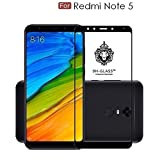 #8: Dashmesh Shopping REDMI Note 5 (Full Glue) (Edge to Edge) (Black) Tempered Glass Screen Protector with Free Installation Kit
