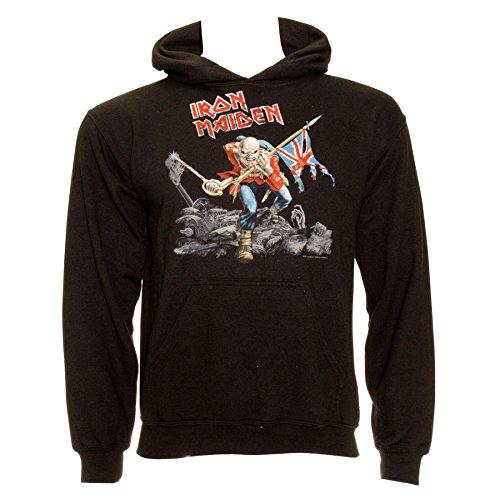 Sudadera con capucha guerra de Iron Maiden (Negro) - M