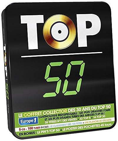 TOP 50 - 30 Ans (100 Tubes) vol. 1 COFFRET