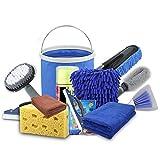Autopflege Set Autowaschset Auto Reiniger Set 10 Teile Autopflegeset