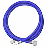 Spares2go Universal lavadora tubo de entrada Manguera de alimentación de llenado de agua fría (2,5m)