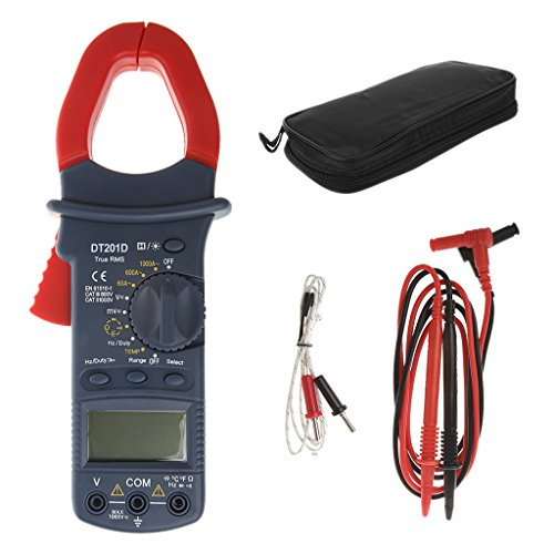 JunYe Digital Handheld AC/DC Current Voltage Resistance Capacitance Multi Clamp Meter Ac Current Clamp Meter