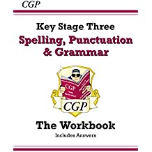 Spelling, Punctuation and Grammar for KS3 - Workbook (with answers) (CGP KS3 English)