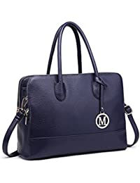606a23afb4d4 Miss Lulu Women Designer Shoulder Handbags Ladies Faux Leather Tote Bags