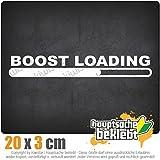 Boost Loading 20 x 3 cm In 15 Farben - Neon + Chrom! JDM Sticker Aufkleber