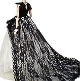 OurKosmos® Splendida partito Handmade abito Vestiti & abiti da sposa accessori bambola Doll-1PCS (Nero)