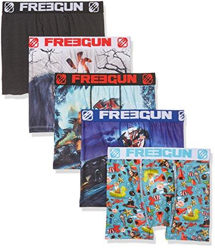 Freegun Herren Boxershorts Mehrfarbig (Multicolor A10)