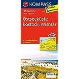 Ostseeküste - Rostock - Wismar: Fahrradkarte. GPS-genau. 1:70000 (KOMPASS-Fahrradkarten Deutschland, Band 3018)