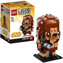 LEGO Brickheadz- Chewbacca, Star Wars, Multicolore, 41609