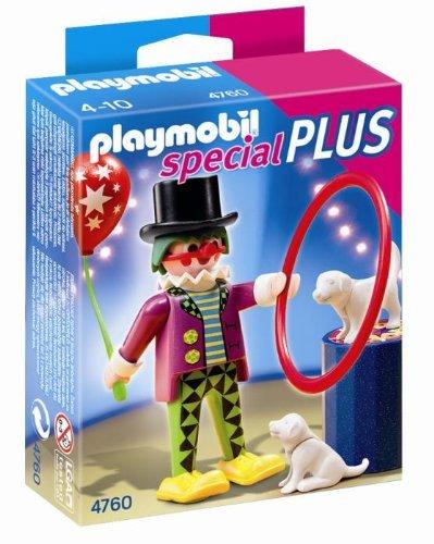 Playmobil - Payaso con espectáculo de Perros