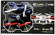 Jack Royal S48 Quadcopter with 2.4GHz System and Headless Mode (Black)