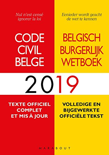Code Civil Belge 2019