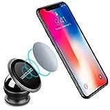 Ubegood Magnet Handyhalterung Auto Halterung Universal KFZ Halter für iPhone X/8/8 Plus/7/7Plus , Samsung Galaxy S8/ S7 /Note 8 und jedes andere Smartphone oder GPS-Gerät (Schwarz)