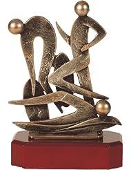 Metall-Resin Figur - (BEL275) Triathlon
