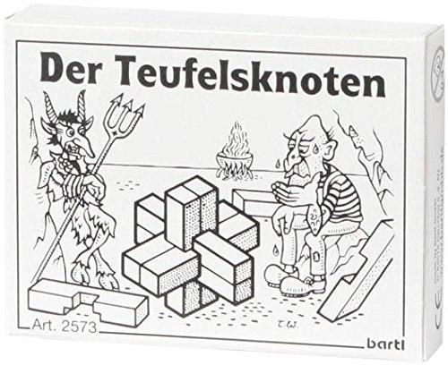 Bartl-102573-Mini-Holz-Puzzle-Der-Teufelsknoten-aus-6-kleinen-Holzteilen Bartl 102573 Mini-Holz-Puzzle Der Teufelsknoten aus 6 kleinen Holzteilen -