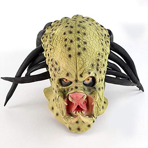 Halloween Erwachsene Horror Maske Latex Parodie Gruselig Scary Party Prop Spielzeug Vollkopf Gesicht Cosplay Kostüm für Jungen & Mädchen (Jungen Iron Mann Kostüm)