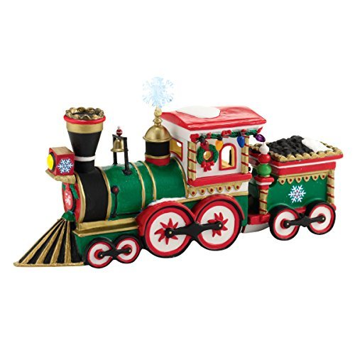 Department 56 North Pole Series Village Northern Lights Express Engine Accessory, 2.17-Inch by Department 56 -