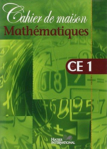 Cahier de Maison - Mathematiques CE1 par (Poche - Jan 23, 2003)